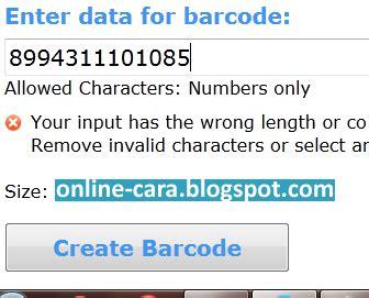 membuat barcode secara online cara membuat barcode secara online cara online