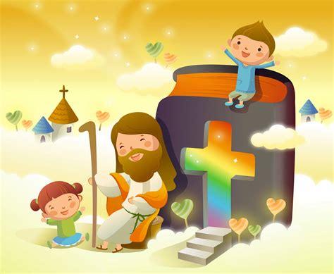 imagenes catolicas en caricatura corazones de maria ilustraciones de jes 250 s con ni 241 os