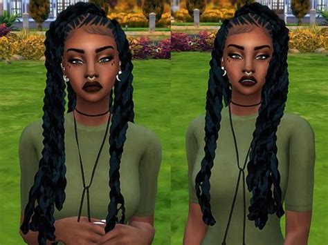 sims 4 girl hair braids 266 best images about cute hairstyles sims 4 on pinterest