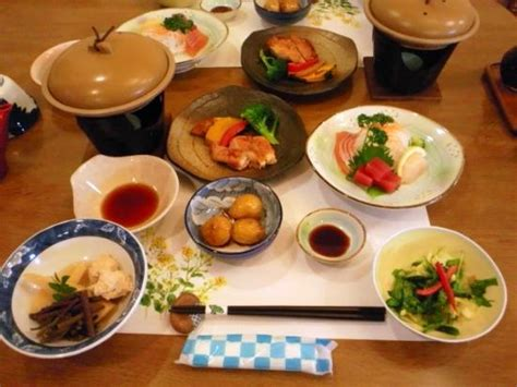 an american in japan - Japanese Dinner