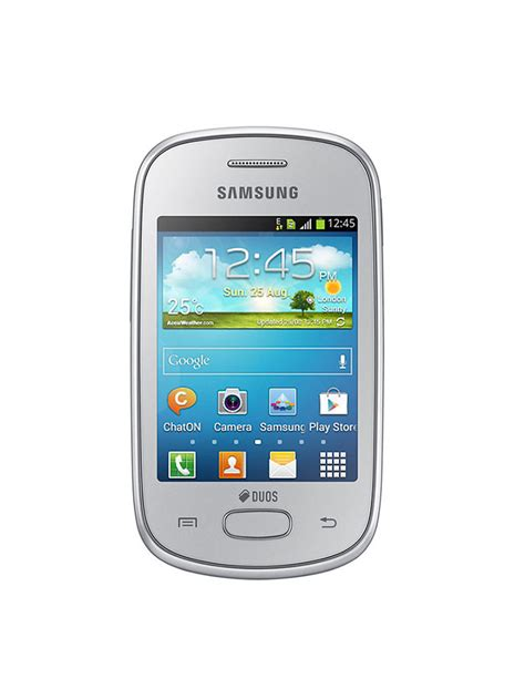 Samsung S5282 Galaxy buy samsung galaxy gt s5282 silver at best price in india on naaptol