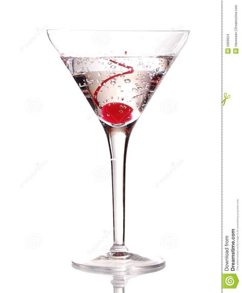 martini cherry martini with cherry stock images image 5969624
