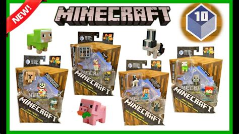 Pajangan Figure Minecraft Mini Figur Minifigures Seri 3 playtime and review club vidmoon