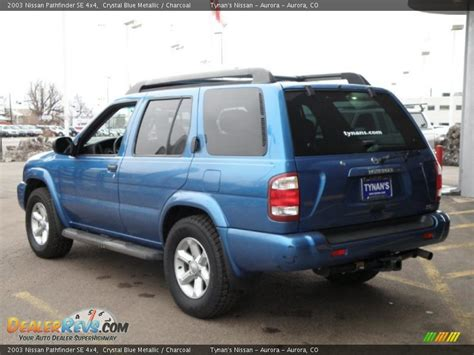 pathfinder nissan 2003 2003 nissan pathfinder blue car interior design