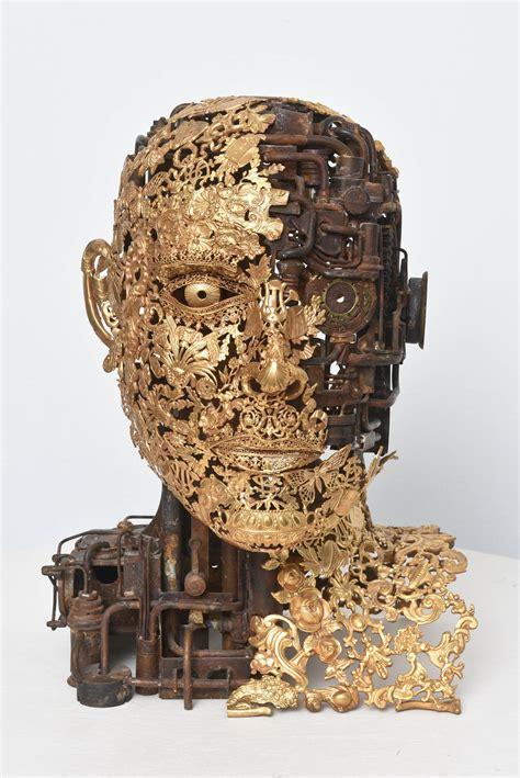 Samurai Bellino alain bellino numero 1 bronze ornaments sculpture