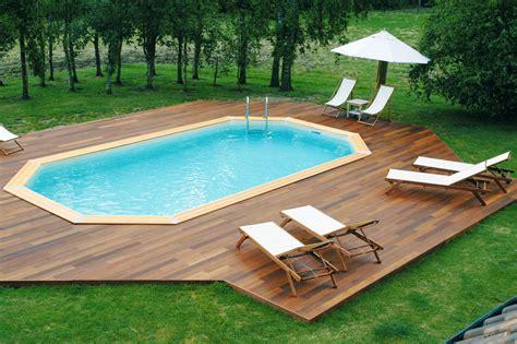 Charmant Castorama Piscine Intex #3: piscine-enterrée-bois.jpg