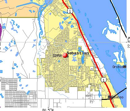 sebastian florida map 32958 zip code sebastian florida profile homes