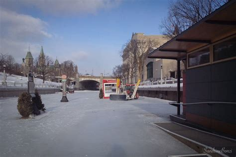 Canal Rideau Patinage by Le Jour O 249 J Ai Patin 233 Jusqu 224 Une Ferme Canadienne Le