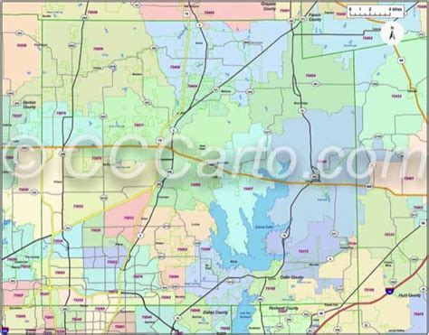 zip code map dallas county collin county texas zip code boundary map