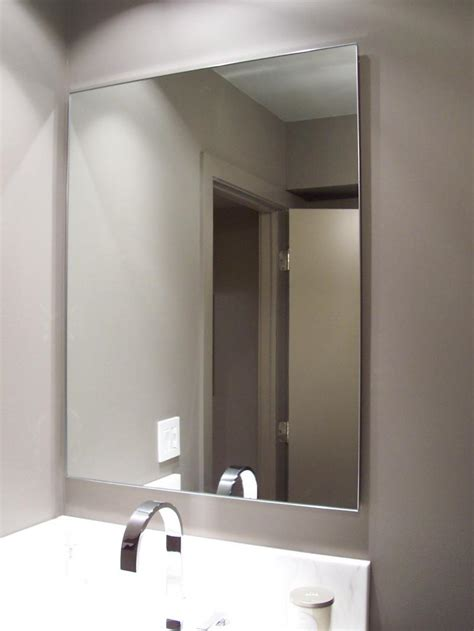 bathroom mirror trim brilliant cut