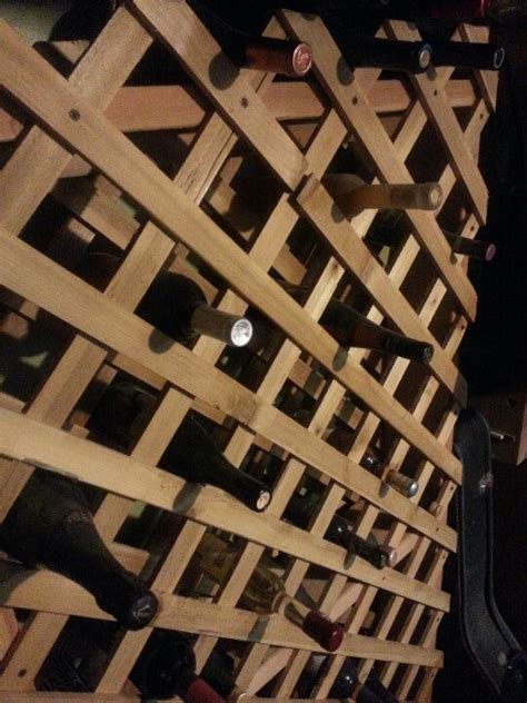 how to build a wine rack in a kitchen cabinet homemade wine rack wine racks pinterest homemade