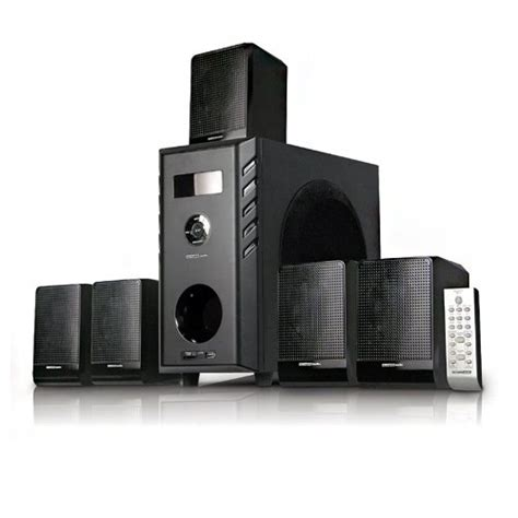 acoustic audio aa5104 5 1 home theater surround sound