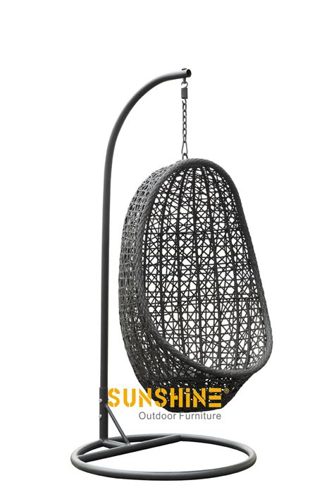 hanging egg chair outdoor furniture modern rattan