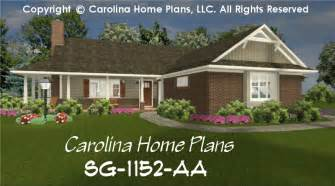 small brick home plans small brick ranch style house plan sg 1152 sq ft