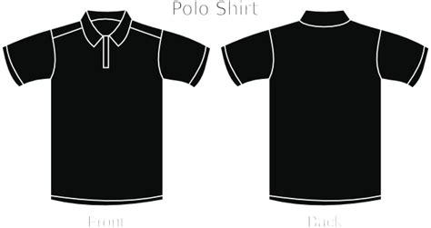 Black Polo Shirt Clip Art At Clker Com Vector Clip Art Online Royalty Free Public Domain Polo Shirt Template