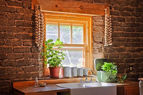 Cushioned Bench Kitchen Garden Window Ideas