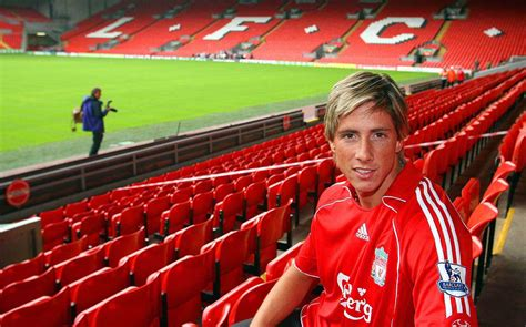 Cmr St Fernando Kid fernando torres on his anfield exit a complete chapter
