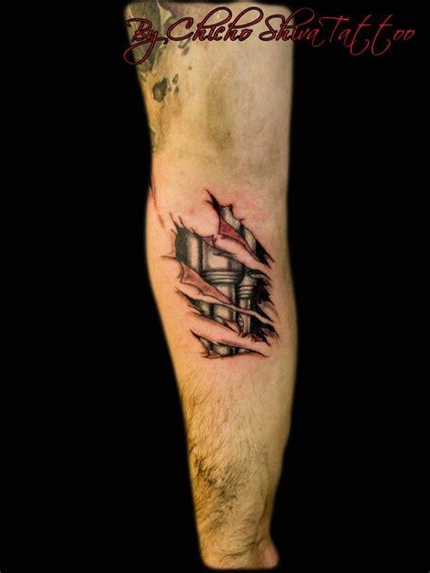 tattoo 3d biomecanico tatuaje biomec 225 nico brazo tatuajes by chicho shiva