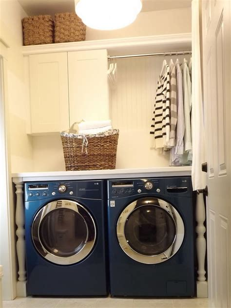 smart small laundry room ideas       space