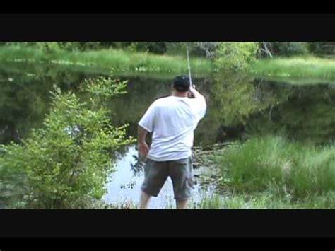 backyard fishing bass fishing in my backyard