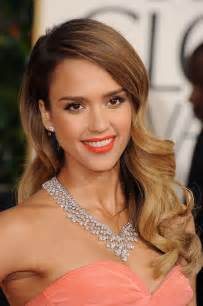 Celebrity hairstyles with hollywood waves amp ombre effects jessica