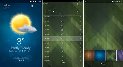 weather widget android 14 best weather apps for android 2016 android booth