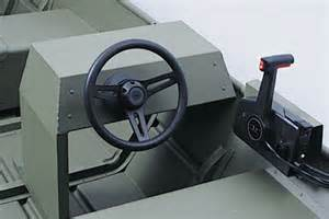 Steering Wheel Kit For Small Boat Jon Boat Steering Console