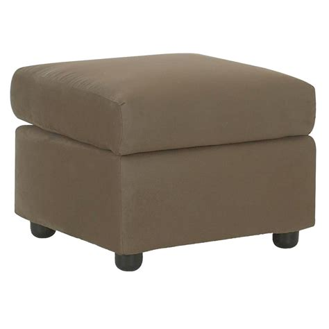 ottoman upholstered klaussner upholstered ottoman value city