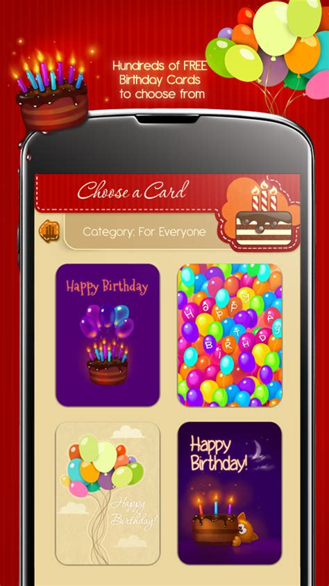 Birthday Card Apps Free Birthday Cards Android Apps On Google Play