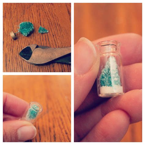small crafts for eat sleep make craft snow globe necklace