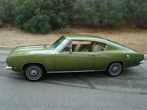 current time in plymouth 1968 plymouth barracuda fastback amazing time capsule