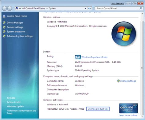 windows reset password activation key how to change product key after installing windows 7 or
