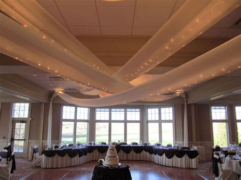 hanging fabric from ceiling wedding www pixshark com