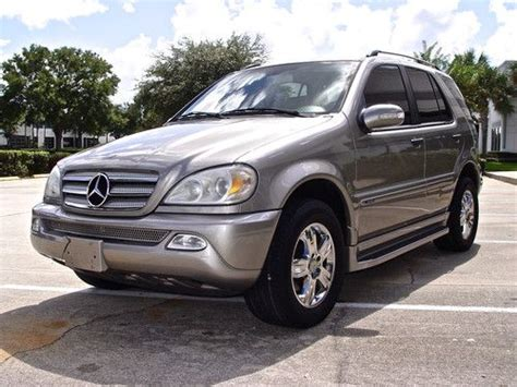 auto air conditioning repair 2005 mercedes benz m purchase used 2005 mercedes benz ml350 special edition premium sport 4matic 4x4 3 7l ml 350 in