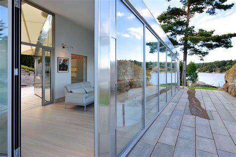 pavillon neuf aluminum cabin by arkitekter mnal