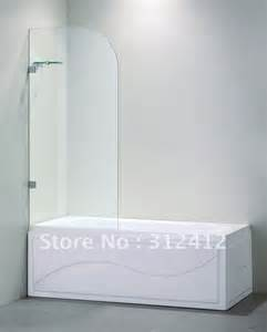 tub shower doors glass frameless bathroom
