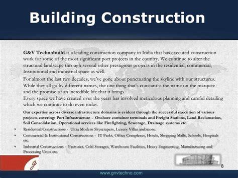 pics for gt construction company profile template pdf