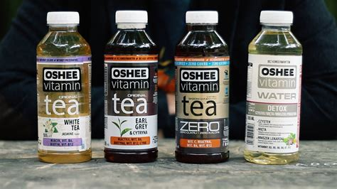 Detox Test Teas by Oshee Vitamin Tea Water Detox Test Herbaty Opinie