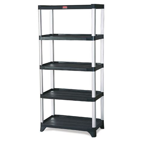 rubbermaid commercial shelving 5 shelf unit sku rcp9t39