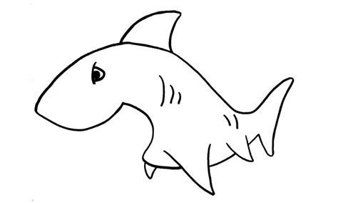 imagenes para colorear tiburon dibujos de tiburones para colorear y pintar