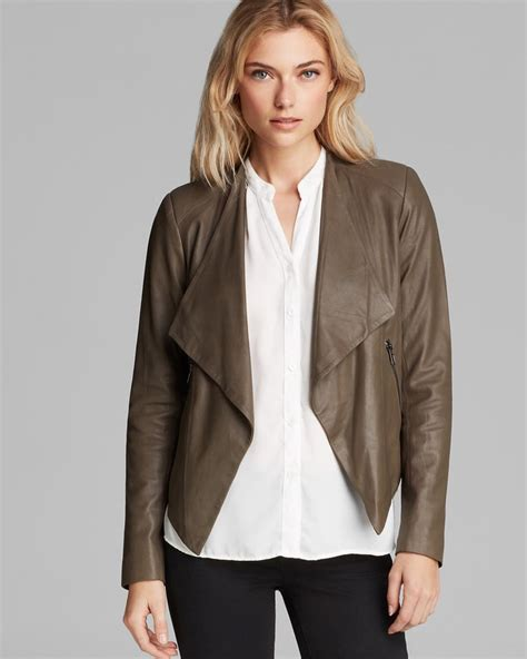 Bb Leather Jacket Soft Brown Bb Dakota Soft Leather Jacket Leather Jackets