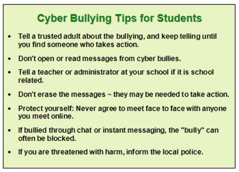 ten tips to prevent cyberbullying the anti bully blog august 2011 the anti bully blog