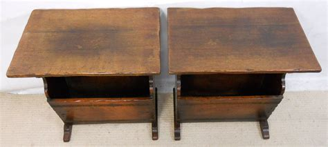 Coffee Table Magazine Sold Pair Coffee Tables Magazine Racks By Titchmarsh Goodwin