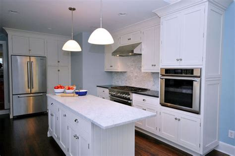 Painted Country Kitchen Cabinets Painted White Kitchen Cabinets For An Country Kitchen Hometalk
