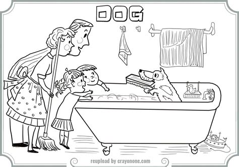 harry the dirty dog coloring page coloring page of harry
