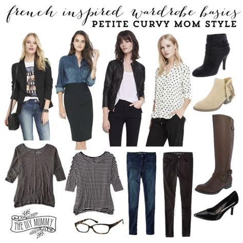 wardrobe essentials for short plump woman french inspired wardrobe basics petite curvy mom style