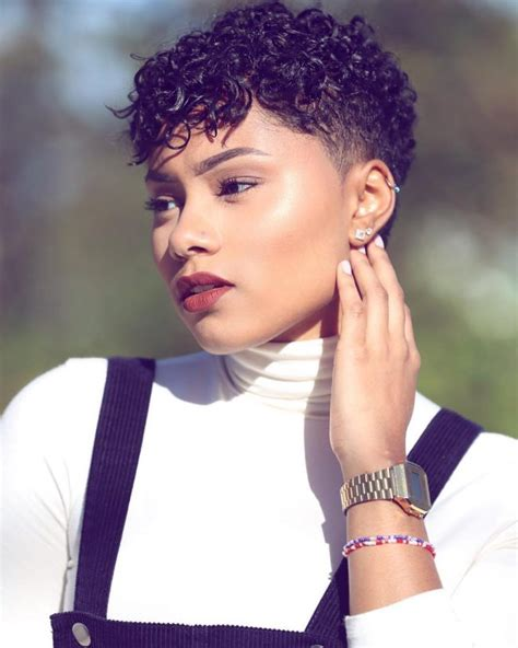 curling pixie cut on black women 55 hottest short hairstyles for black women find the look