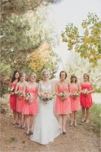 rustic wedding bridesmaid dresses special wednesday top 10 coral bridesmaid dresses ideas