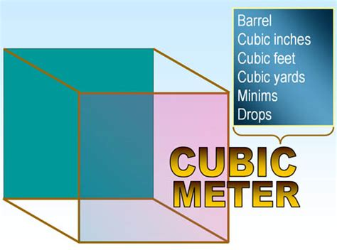 How Many Square In A Cubic Yard Metrics