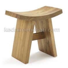 Bangku Teras Mangkok jati furniture minimalis almari pakaian jati 2 pintu